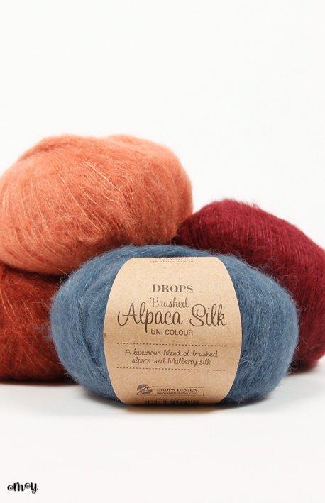 Drops Brushed Alpaca Silk 25g